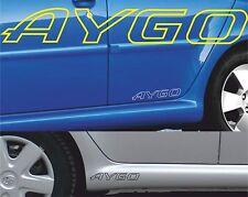 2 x Toyota Aygo 002