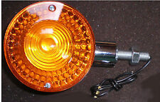 YAMAHA Blinker RD 250 RD 350 RD 400 Chrom Hinten 8 mm Made in Japan NEU