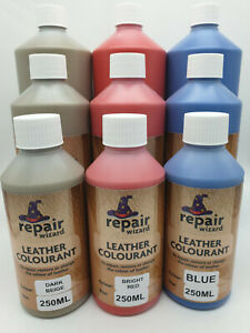 Leather Vinyl Dye Paint Colourant Recolour Restore Faded Worn Shoe Boot Clothing