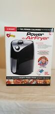 Power Air Fryer 2 Qt. Black Air Fryer