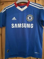 Chelsea football shirt jersey soccer for boys size 7/8 years #11 Drogba adidas