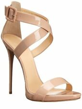 Women Sandals High Heels Peep Toe Cross Strap Party Sandals Sexy Stilettos Shoes