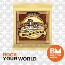 Ernie Ball 2008 Acoustic Guitar Strings Earthwood 80/20 BRONZE Rock& Blues 10-52