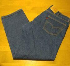 Vintage Levi's 501 Jeans Shrink to Fit 90's 46x32 Blue Denim ACT 42x30