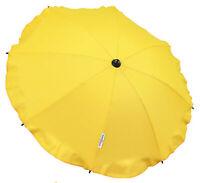 Universal Baby Umbrella Parasol Waterproof Fit Jogger City  Yellow