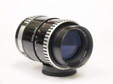 Carl Zeiss Jena Sonnar 135mm F3.5 Zebra Screw Mount Lens. stock No. U10846