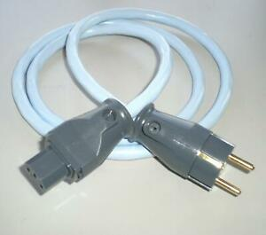 Supra Cables LoRad MKII  CS EU 10 A Netzkabel 3x2,5 mm² SWF 10 geschirmt 1 m