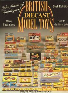 British Diecast Model Toys - Types Makers Models Dates/ Book + Values