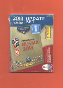 Panini Russia World Cup 2018 Collection - Update Sets (Sealed/Unopened)