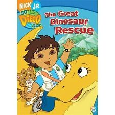 New/Sealed! Go Diego Go! - The Great Dinosaur Rescue (DVD, 2006)