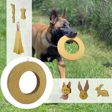 Jute Pet Dog Chew Toys for Aggressive Chewers Squeaky Bite Toy Tug Rag Ring Bone