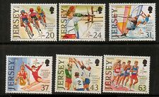 JERSEY SG818/23 1997 7th ISLAND GAMES MNH