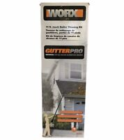 WORX WA4092 Universal Fit Blowers Gutter Cleaning Kit 11ft reach