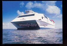 FE3331 - Stena Line HSS Ferry - Stena Discovery , built 1997 - postcard