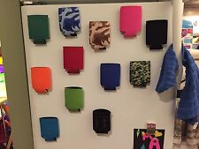 4 Magnetic Koozies Coozies Great Quality Strong Gift Golf Beer Tailgate BBQ Beer