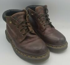 Dr. Martens Air Wair Boots Brown Leather Size Men's 5 Uk 6 US Women's 7.5 US