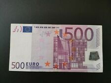 More details for 500 euro bank note 2002x series sign by trichet