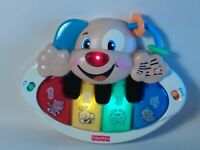 POLISH Fisher Price Laugh Learn Puppys Piano. Baby Preschool Music Education Toy