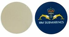 HM SUBMARINES METAL GOLF BALL MARKER DISC 25MM DIAMETER
