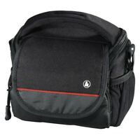 Monterey 100 Camera Case Carry Bag Black for Sony Canon Nikon Olympus JVC Fuji