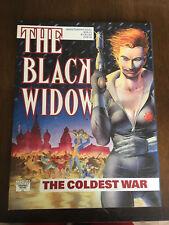 THE BLACK WIDOW THE COLDEST WAR GRAPHIC NOVEL NM MARVEL COMICS 1990
