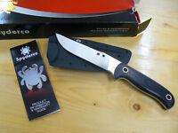 Coltello Spyderco SCFB33GP Bradley Bowie knife couteau navaja messer