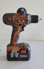 Ridgid R86008 18-Volt X4 Compact Cordless Drill