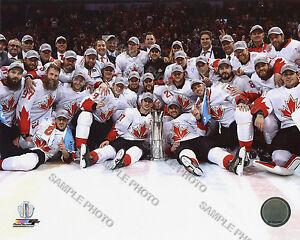Team Canada 2016 World Cup of Hockey Team Celebration 8x10 Unsigned Photo