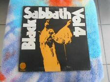 BLACK SABBATH VOL 4 VINYL LP 1972 ORIGINAL AUSTRALIAN PRESS VERTIGO 6360 071