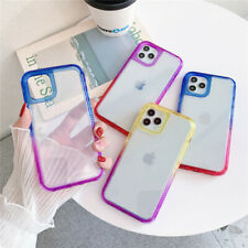 For iPhone 12 11 Pro Max Mini Transparent Protective Armor Shockproof Case Cover