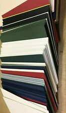 120 TOTAL MOUNTBOARD ASSORTED COLOURS 60 x 6x4, 38 5x7, 22 6x8, CARD MOUNT BOARD