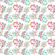 8 ASSORTED CUTE OWL GAL BACKING PAPERS FOR CARD & SCRAPBOOK MAKING