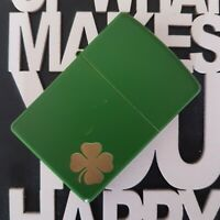 Mechero Zippo Personalised Green Mate Clover 21032 lighter ☘️ Got Your Luck ☘️