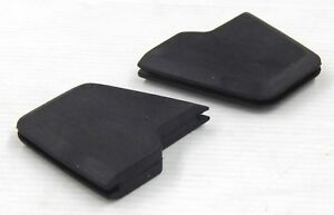 MAZDA RX4 929 COUPE REAR RUBBER BUMPER INSERT INSERTS PAIR LH RH 2PCS