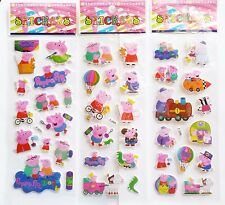 Peppa Pig Stickers.Lolly bag filler, Prizes *SPECIAL OFFER* BUY 5 GET 5 FREE