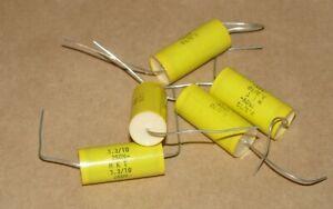 15pcs 3.3uF 250V MKT Crossover Audio Speaker Metallized Polyester Film Capacitor