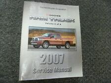 2007 Dodge Ram 1500 2500 3500 Truck Exhaust Fuel Service Repair Manual ST SLT
