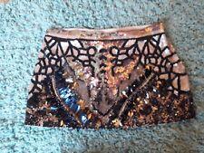 Stunning  All Saints Dreamcatcher Sequin Skirt Size 8 Excellent Condition