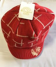 Chicago Blackhawks Knit Beanie Toque Winter Hat Skull Cap NHL New Retro Visor