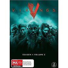 VIKINGS-Season 4, Vol 2-Region 4-New AND Sealed-3 Disc Set-TV Series