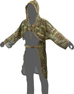 Viper Tactical Concealment Vest Ghillie Jacket Stalking Sniper - Camouflage