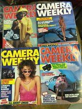 Camera Weekly magazines February 1985