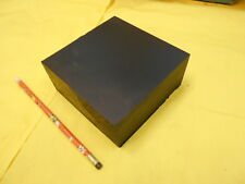 BLACK NYLON BAR machinable plastic flat sheet stock  2 1/4