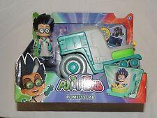 New PJ Masks Romeo Lab Car Disney Junior Super Hero Catboy Gekko Owlette