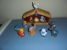 Fisher Price Little People Christmas Story Nativity Set Light & Music