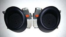92 93 94 95 Honda Civic EG JDM SiR 2 Door Panel Tweeter Speakers OEM Black 92-95