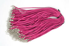 20pcs Roseo Suede Leather String Necklace Cord Jewelry Making 47cm DIY FREE