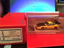 1/43 Tecnomodel Ferrari 575 GTC Matt Yellow/Black #05/12 n BBR MR LOOKSMART