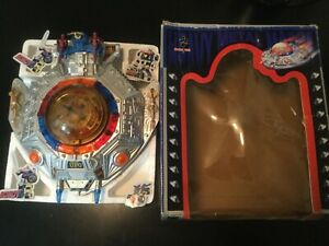 "VINTAGE 1980'S SPACE COMBAT 12"" UFO HEAVY METAL SPACECRAFT BUMP'N GO TOY Rare"