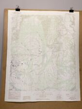 Burnsville Alabama River Selma Dallas County Map Topographical Survey Byrnville